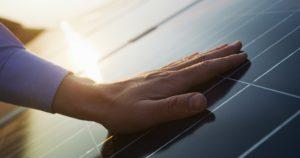 Energía renovable, tecnología, electricidad, servicio, verde, futuro